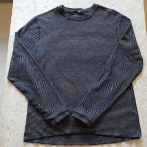 Lululemon Striped Long Sleeve T-Shirt